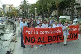 Manifestación contra el botellón