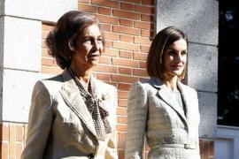 Doña Sofía cede la presidencia de honor de la FAD a doña Letizia