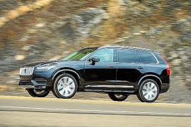 El Volvo XC90 recibe 5 estrellas de Euro NCAP