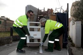 Emaya proporcionará un nuevo servicio de recogida de muebles y trastos viejos