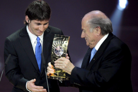 Leo Messi se corona como el mejor del mundo