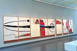 Un Miró 'en gran formato' protagoniza una muestra en el Kunsthaus de Zúrich