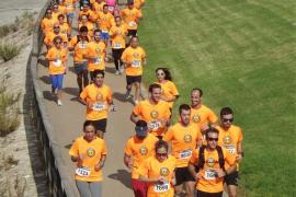 Unas 1.200 personas han participado en la carrera Beer Runners en Palma