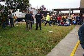 La caída de un dosel en un instituto de EEUU provoca 25 heridos