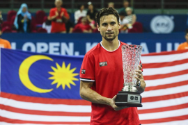 David Ferrer logra su cuarto título del año tras doblegar a Feliciano López en Malasia