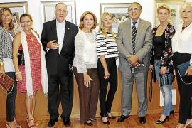 El artista Aurelio Salas expone su obra en el Consulado de Argentina