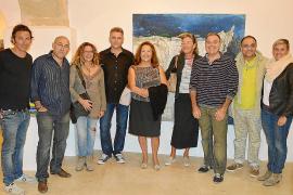 Muestra colectiva y cena de artistas en Pollença