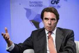 Aznar avisa a Rajoy del peligro que supone Ciudadanos para el PP
