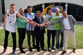 Atlètic Balears, Palma Futsal y Palma Air Europa se unen para atraer espectadores