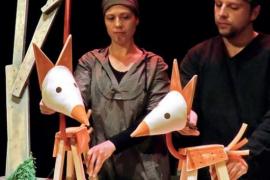 'Kissu', una representación con títeres en el Teatre de Manacor