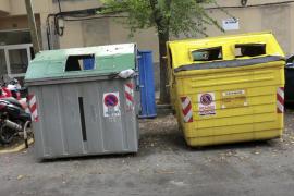 C's critica que Emaya «despilfarre» 2,4 millones en renovar los contenedores de Palma