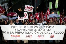 Delgado aprobará mañana la privatización del agua a una hora insólita para evitar manifestaciones