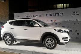 Proa Automoción y el Hyundai Tucson, protagonistas del tour de Rick Astley