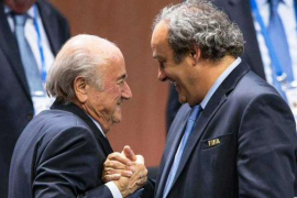 El Comité de Ética suspende a Blatter, Platini y Valcke