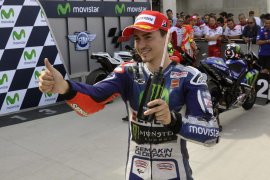 Lorenzo busca en Motegi seguir recortando la ventaja de Rossi