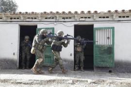 El Regimiento Palma 47, en las maniobras OTAN