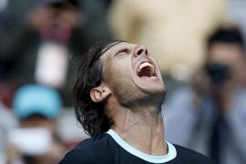 Nadal avanza a semifinales en Pekín tras remontar a Sock