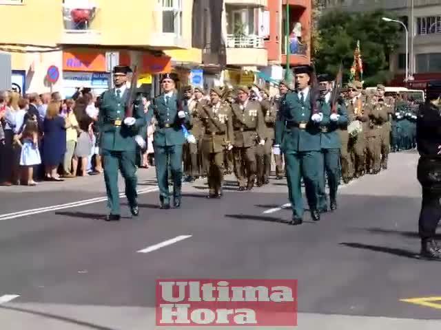 La Guardia Civil, que camina junto a la ciudadanía «en la misma dirección», celebra en Palma su festividad