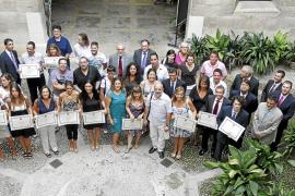 La Escuela Superior Balear premia a casi 100 alumnos de los postgrados y cursos 2008-2009