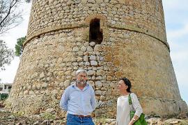 Concluye la primera fase de las obras de restauración de la torre de sa Mola