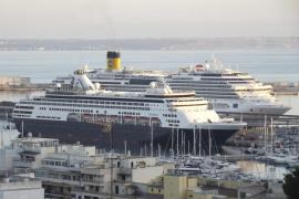 Balears recibió 1,19 millones de cruceristas hasta agosto