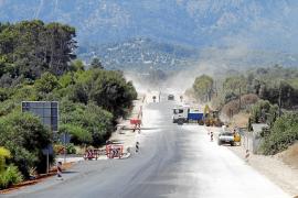 La carretera de Festival Park a Bunyola se abrirá al tráfico a final de mes