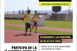 Cartel de la I Blind Running Mallorca