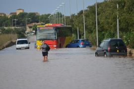 Diluvio en Son Ferrer