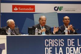Balisario Betancur, Carlos Slim y Manuel Palomar