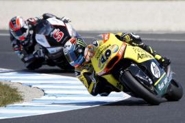 Alex Rins firma en Moto2 el mejor tiempo en la clasificación de Australia