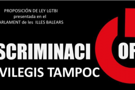 El IPFB inicia una campaña contra la proposición de ley en favor de LGTBI
