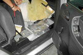 Detenida una banda que usaba a jubilados para traer cocaína de Barcelona a Mallorca