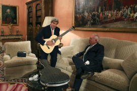 John Kerry se reúne con el Rey y Rajoy