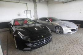 Dos Ferraris de don Juan Carlos saldrán a subasta en noviembre