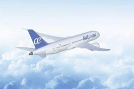 Air Europa lanza su nueva  imagen con el azul como color identificativo