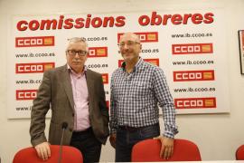García coge el relevo de Vicens al frente de CCOO Balears