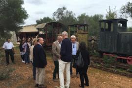 ASIMA y el Consell se interesan por el patrimonio industrial y agrícola de Mallorca