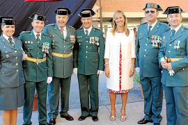 La Guardia Civil celebra su patrona.