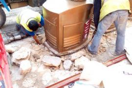 Comienza la retirada de los contenedores de recogida neumática en Palma