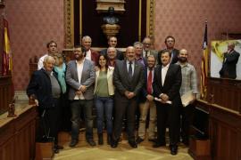Los 'glosadors', premiados con la Gota d'Oli 2015