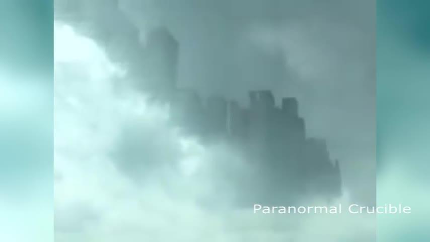 La aparición de una ciudad flotante en el cielo de China revoluciona Internet