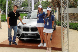 Proa Premium y el nuevo BMW X1, en el Legends Cup Palma de Mallorca