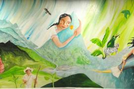 La mallorquina Nívola Uyá presenta su obra 'Abrazar la tierra' en México