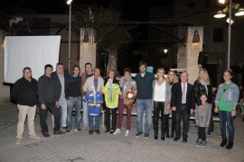 Fullana recibe el cariño de Sant Llorenç