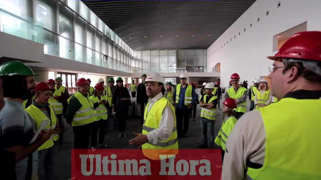 Los ciudadanos ven «en qué se ha gastado el dinero» del Palacio de Congresos