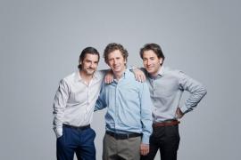 Gabino Diego, Antonio Garrido y Antonio Hortelano, en 'Nuestras mujeres'