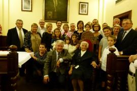 Alcúdia homenajea a la centenaria Margalida Aloy Vila