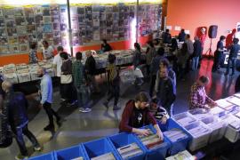 La Fira del Disc de Palma suma ventas y asistencia en su versión reducida