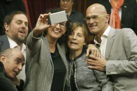 Carme Forcadell es elegida presidenta del Parlament catalán