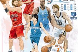 Empieza el espectáculo de la NBA